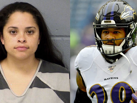 NFL player's wife arrested; police say she held gun to head over affair
