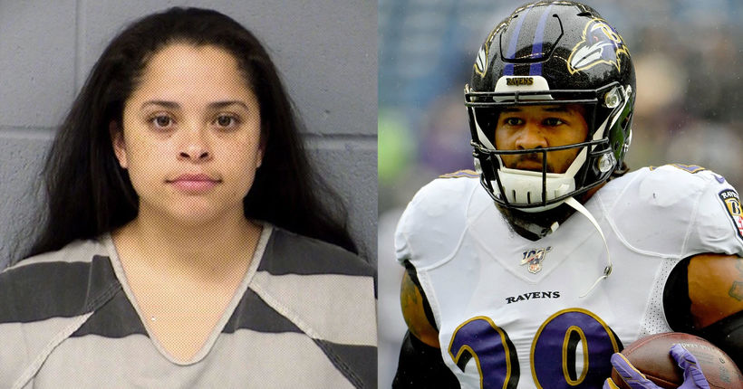 NFL player's wife arrested after police say she held gun to his head over affair