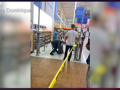 VIDEO: Officer takes down woman in store altercation over wearing mask