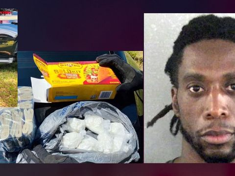 K-9 sniffs out cocaine hidden in Florida man's taco box