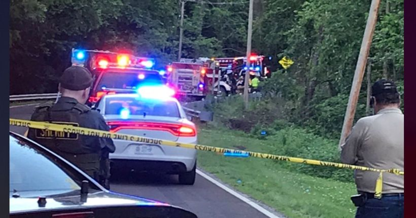 Two kids dead after crashing grandma's car into creek in Missouri