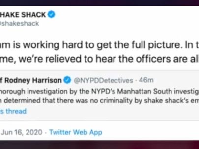 Cops not intentionally poisoned at Shake Shack, NYPD announces
