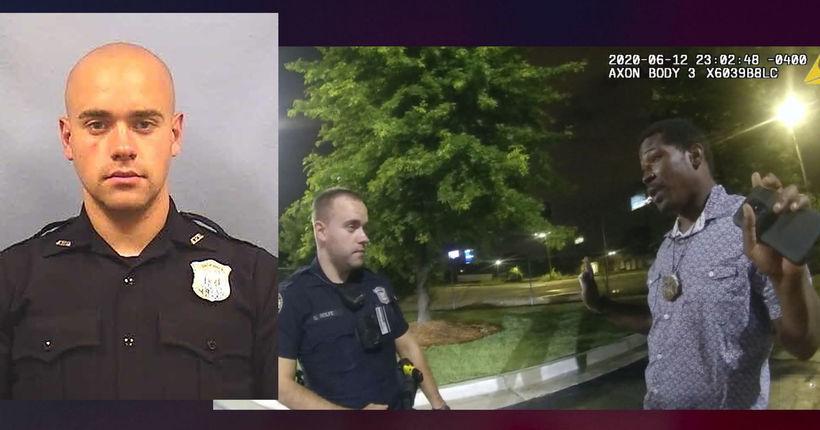 Atlanta cop who shot Rayshard Brooks charged with murder, assault