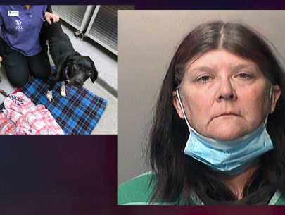 Iowa woman charged after starving dogs rescued