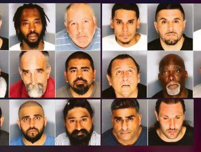 California deputies arrest 18 suspects in predator sting