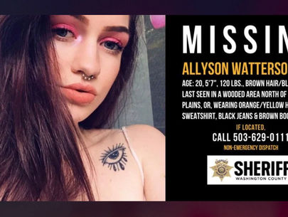 Oregon investigators believe remains of Allyson Watterson found