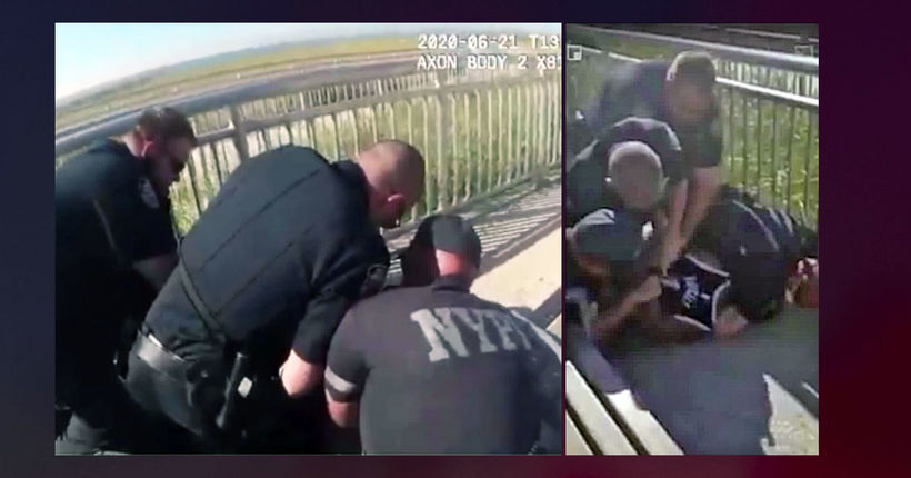 NYPD officer charged with strangulation for alleged chokehold in Queens arrest