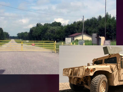 Ft. Chaffee Humvee stolen at gunpoint; authorities search for suspects