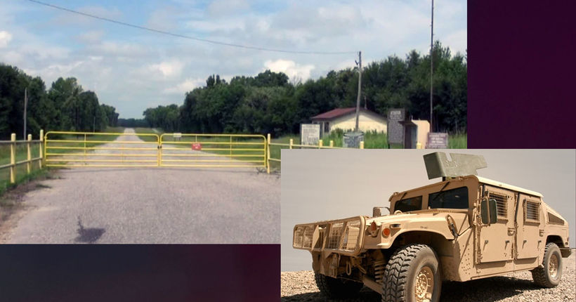 Fort Chaffee Humvee stolen at gunpoint; authorities searching for suspects