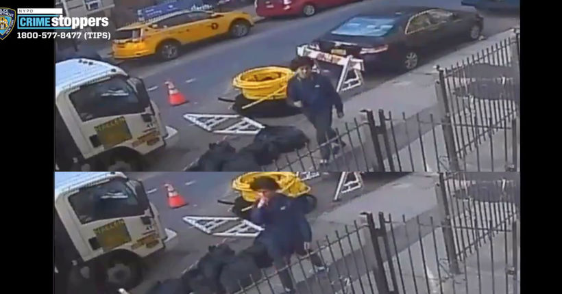 NYPD seeks attempted-rape suspect who followed woman into Queens building