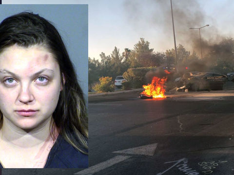 DUI suspect was driving 121 mph in crash that killed year-old son: Police