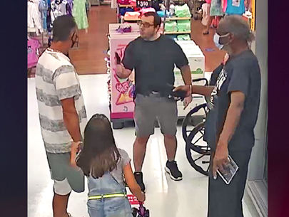 Florida man pulls gun in confrontation over mask in Walmart