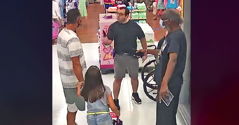 Florida man pulls gun in confrontation over mask in Walmart