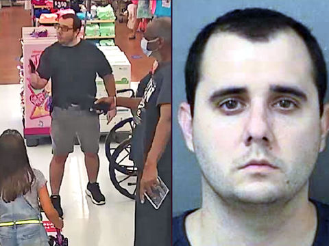 Florida man arrested for waving gun at shopper in mask confrontation