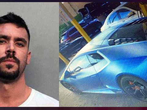 Lamborghini seized in alleged Florida COVID-relief fund fraud case