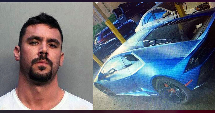 Florida man arrested, Lamborghini seized in alleged COVID-relief fund fraud case