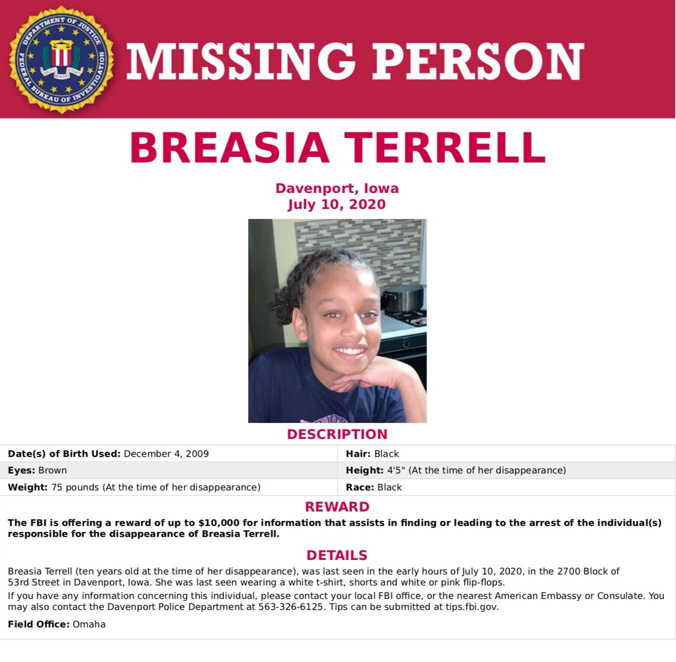 Breasia-Terrell-missing-poster-FBI