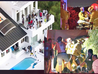1 dead, 2 wounded in shooting at Hollywood Hills house party