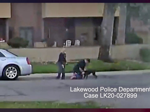 Suspects drive away after shooting dog dead on street in Denver area