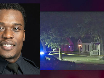 Shotgun fired at house during confrontation with suspended cop