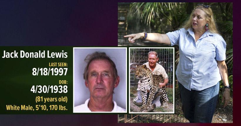 'Tiger King' update: Don Lewis' daughters file suit against Carole Baskin; $100K reward offered