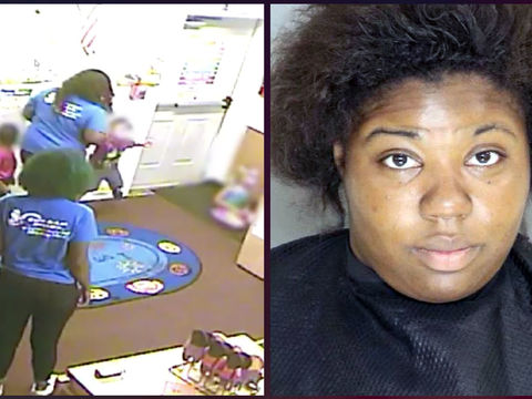 Day care worker arrested for allegedly hitting, tossing child