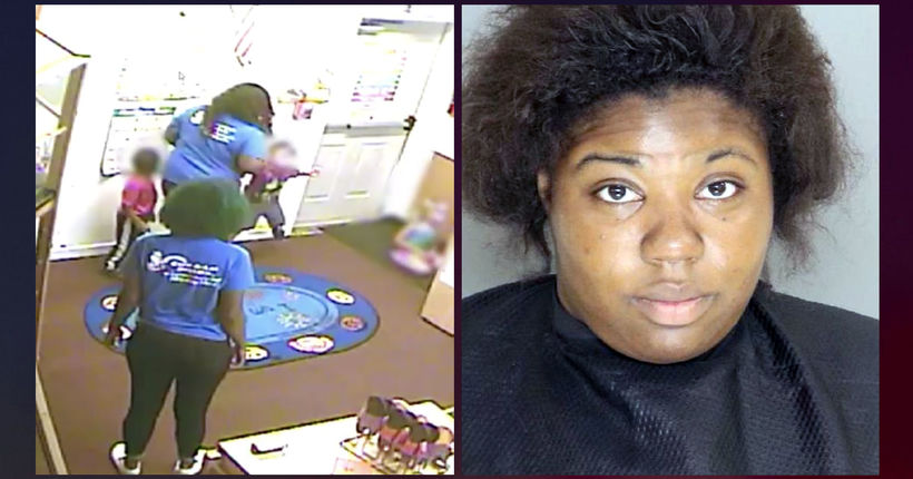 South Carolina day care worker arrested for allegedly hitting, tossing child