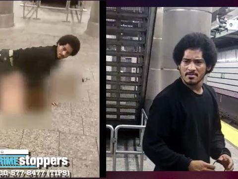 Rape suspect caught on camera on train platform in custody: NYPD