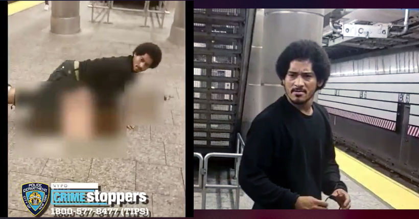 Rape suspect caught on camera on NYC train platform in custody after tips from public: NYPD