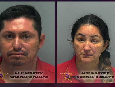 Florida parents accused of chaining teen daughter to bed