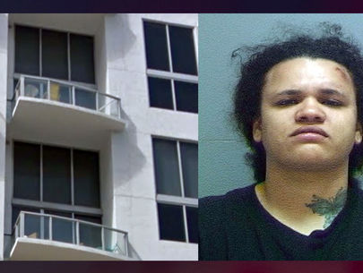 Utah woman arrested for allegedly throwing dog off 5th-floor balcony