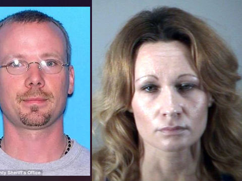 Florida woman arrested years after husband found under concrete slab