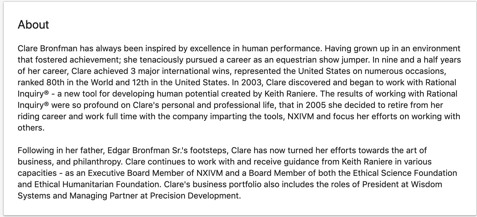 Clare-Bronfman-linkedin-page
