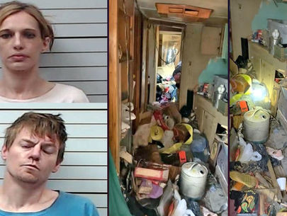 Mississippi infant born in 'deplorable' conditions hospitalized; 2 arrested