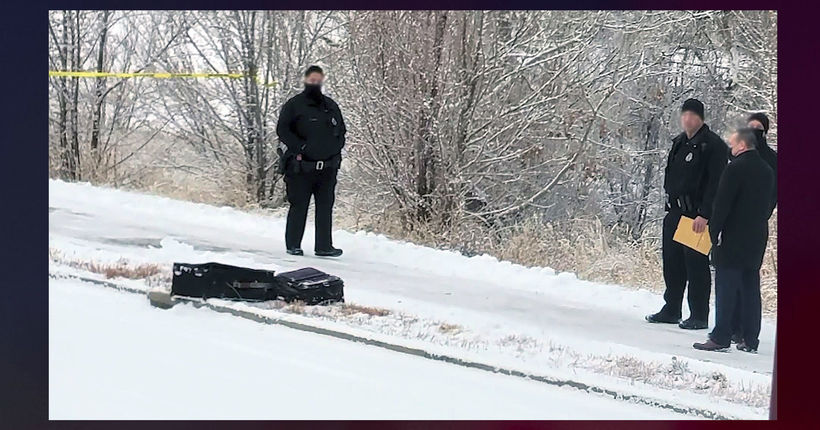 Human remains found in 2 suitcases on side of road in Denver neighborhood